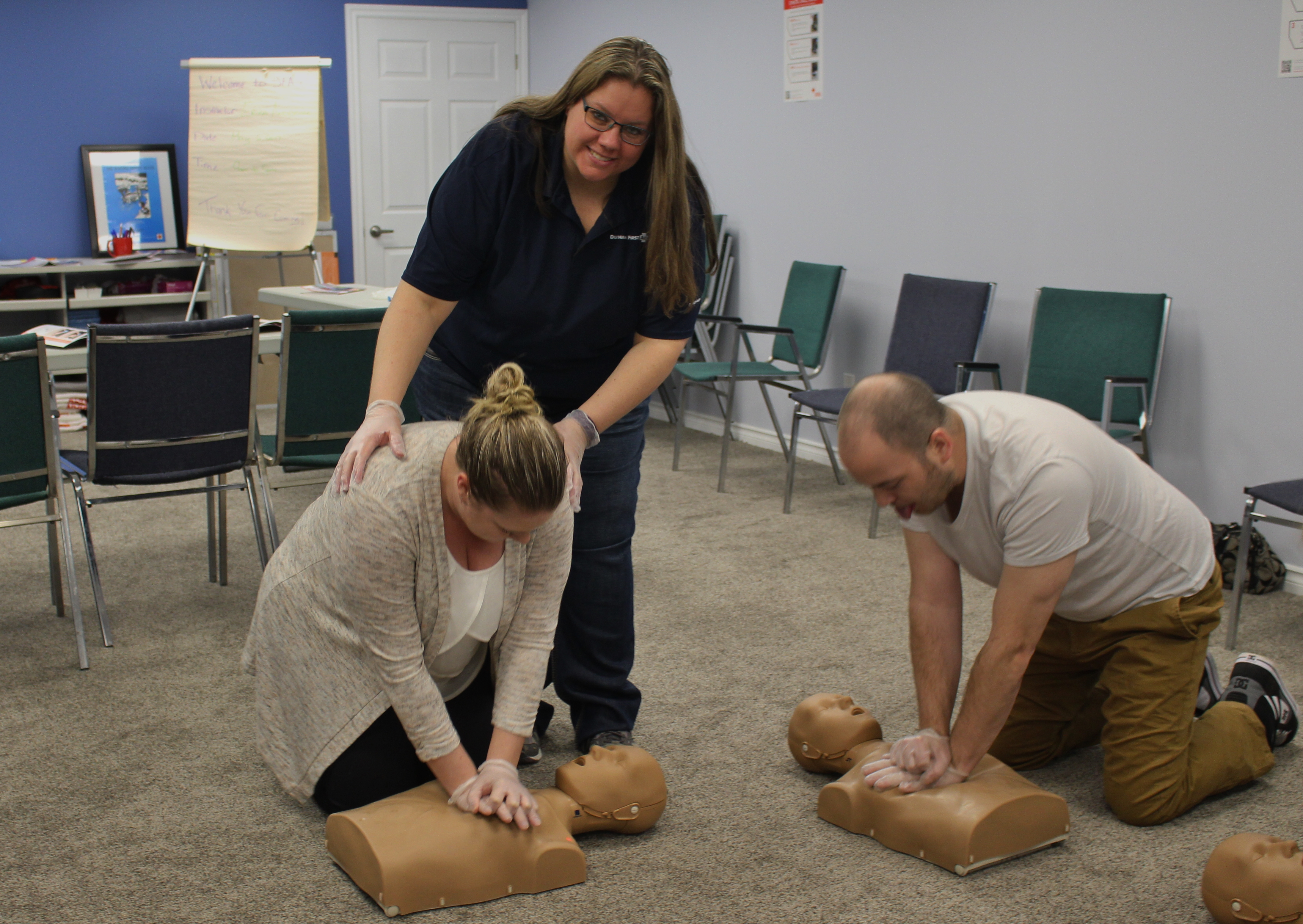 Red Cross First Aid & CPR/AED Instructor Course - Durham ...
